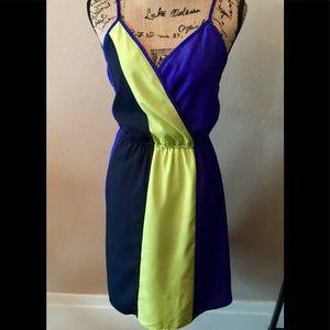 Mossimo Color Block Dress Size Medium